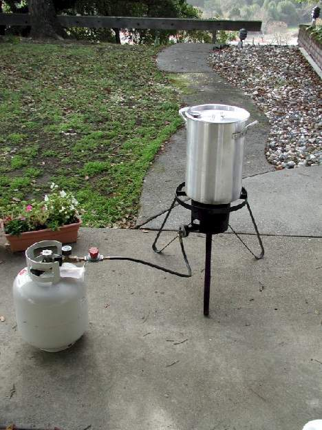 Fryer Set Up